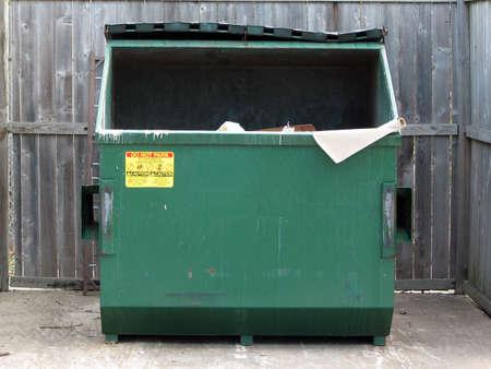 dumpster: simply plain dumpster
