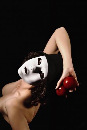 pantomime: Pantomima Mujer