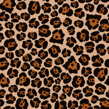 Jaguar skin pattern design with a uniform and colorful texture can be used for fabrics, textiles, wrapping paper, tablecloths, curtain fabrics, clothing etc.