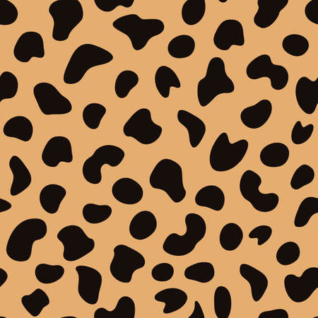 design pattern flat cheetah fur skin, can be used for fabric, textile, wrapping paper, table cloth, curtain fabric and etc.
