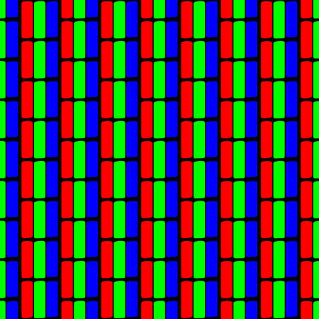 design pixel tv crt pattern with RGB color