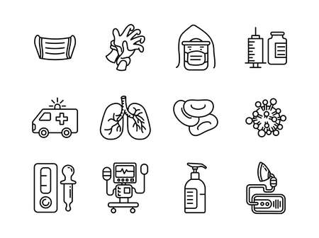 Advanced design Healthcare and Medical vector line icons, style 1 vol 1, suitable for web, mobile apps and etc.
