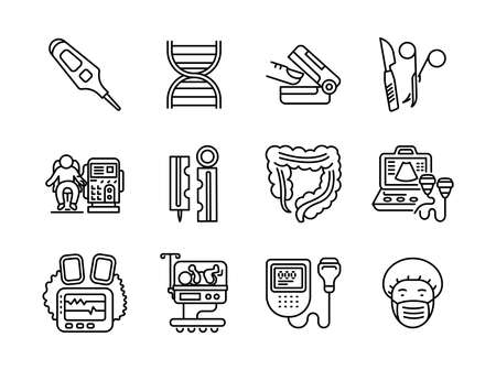 Advanced design Healthcare and Medical vector line icons, style 1 vol 3, suitable for web, mobile apps and etc.