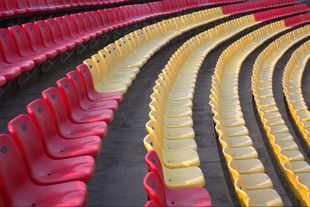 Color chairs photo