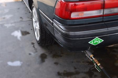 Refuel gas LPG  photo