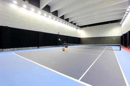 venues: Indoor tennis court