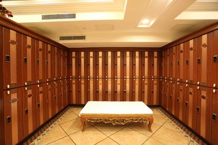 locker room: locker room