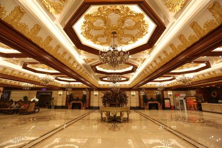 lobby of the hotel
