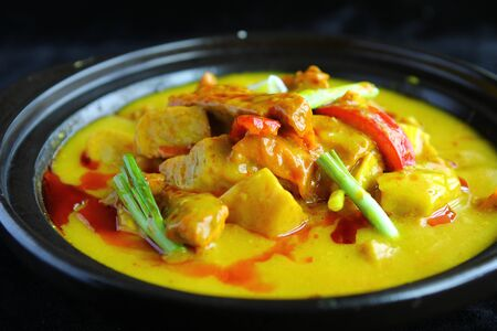 vegetable curry: vegetable curry
