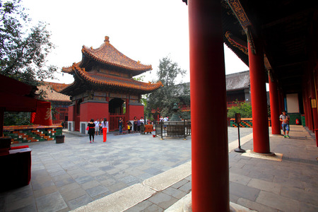 the lama: Lama Temple Editorial