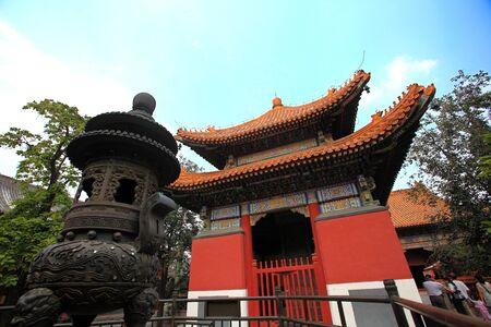 lama: Lama Temple Stock Photo
