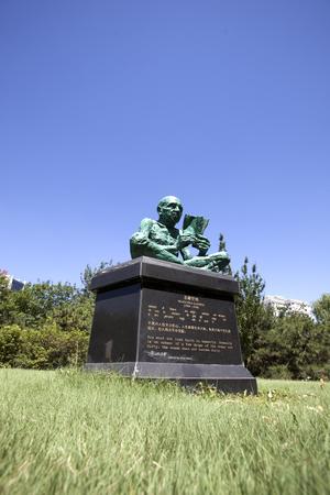 mahatma: Mahatma Gandhi statue Editorial