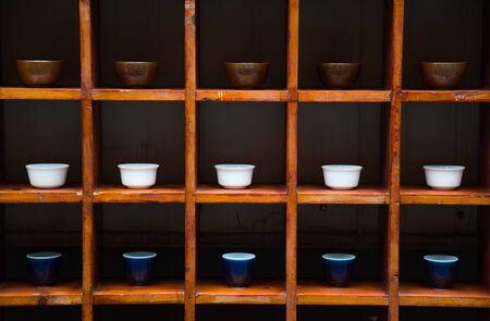 wood burner: tea cup