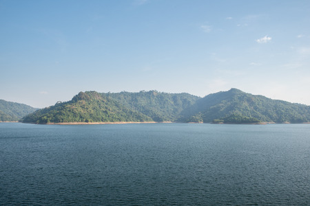 Mountain water source, back of Khun Dan Prakan Chon Dam, Nakhon Nayok, Thailand.