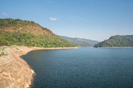 Mountain water source, back of Khun Dan Prakan Chon Dam, Nakhon Nayok, Thailand.