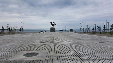 Thessaloniki view Stock Photo