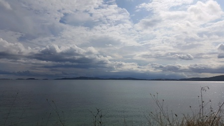 Halkidiki sea shore