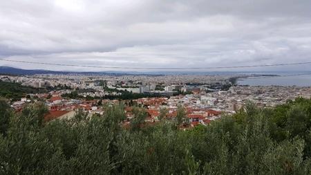 Thessaloniki cityscape Stock Photo