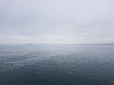 Sea shore in Bulgaria Stock Photo