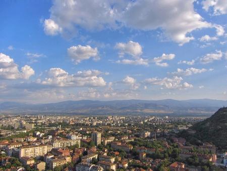 Cityscape of Plovdiv, Bulgaria