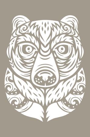 熊トーテム マスク