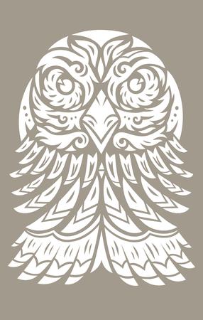 Eagle totem tattoo
