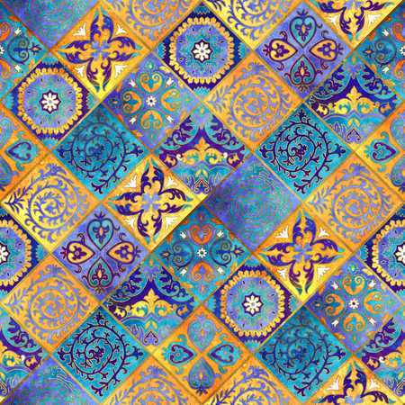 Morocco mosaic design. Abstract background