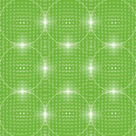 abstractions: Abstractions - glowing circles and balls. Stock Photo