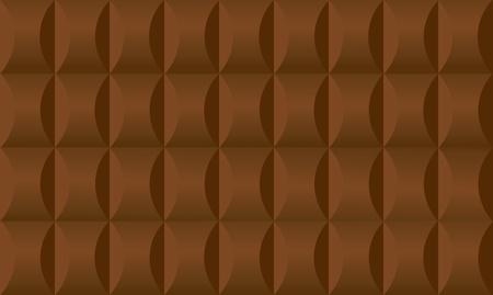 The seamless dark brown chocolate background