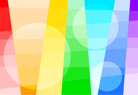 iridescent: Abstract background of the iridescent colors Illustration