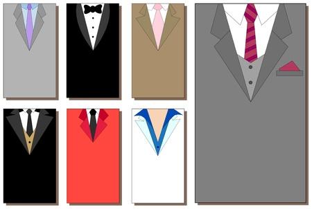 Collection des combinaison arri�re-plans pour les entreprises des cartes 5 x 9 cm