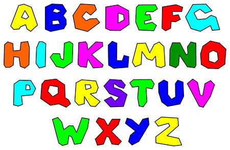 colorfull: Colorfull alphabet