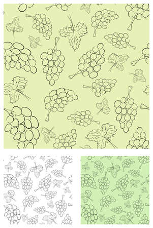 Vector retro vine background collection of different colors Vector