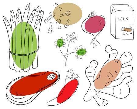 clous de girofle: ingr�dient alimentaire sur un fond blanc