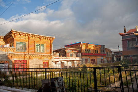 nurseries: China Sichuan Ganzi Tibetan houses