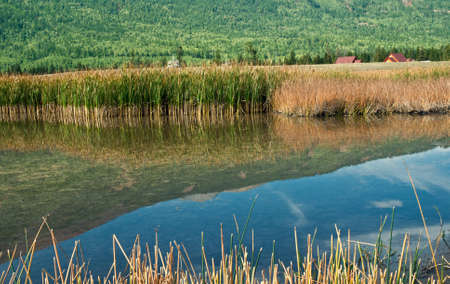 China Xinjiang scenery, Kala Si Lake  Stock Photo - 12856006