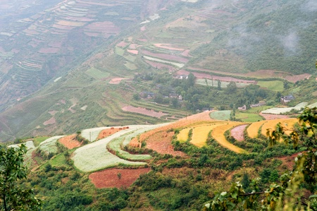 loess: Yunnan  Terrace, China Stock Photo