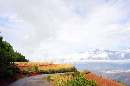 Dongchuan, Yunnan laterite terraces, Stock Photo - 12856760