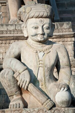 Nepal statues, temples and decorative arts Stock Photo - 12907851