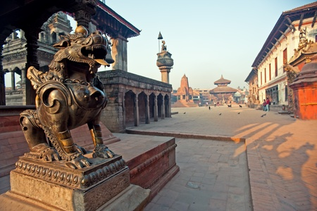 Bhaktapur Durbar Square, Nepal  Stock Photo