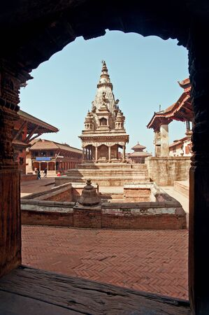 Bhaktapur Durbar Square, Nepal  photo