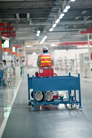 Passenger car plant
