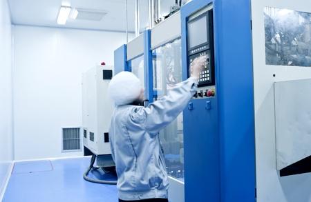 Le personnel dans le fonctionnement de l'�quipement m�dical