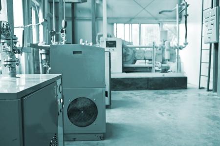 Water Treatment motor room Stock Photo - 13060069