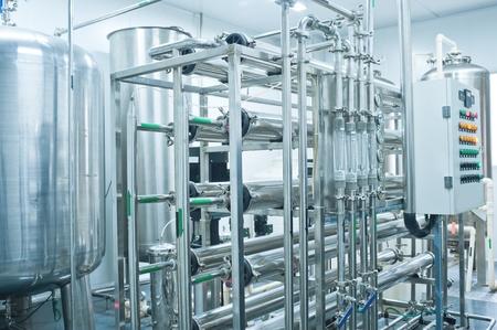 productos quimicos: El agua pura línea de producción