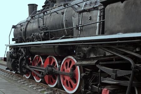 Steam locomotive,