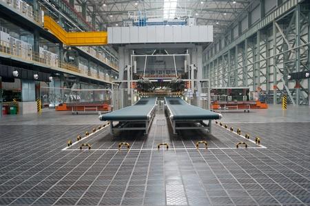 Ligne de production de voitures