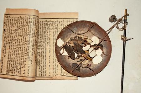 Chinese herbal medicine Stock Photo - 13096727