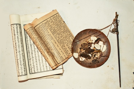 Chinese herbal medicine photo