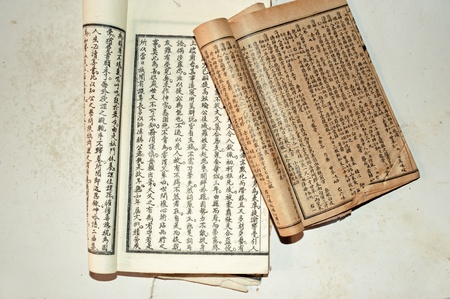 classics: Chinese traditional medicine ancient book Editorial